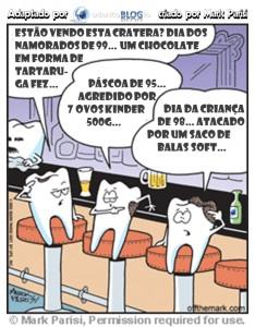Como se forma a cárie dentária