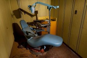 Consultório de Dentista em navio de guerra